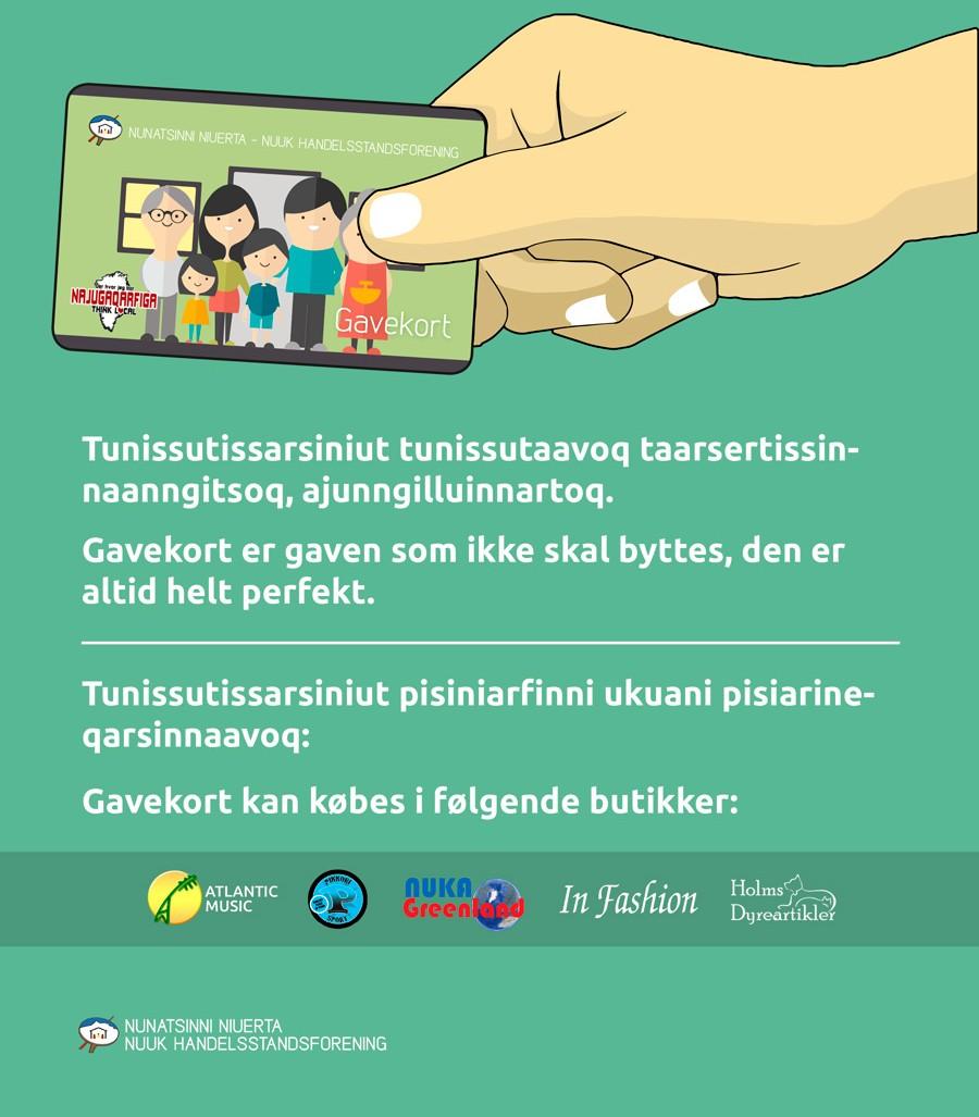 Gavekort-Reklame